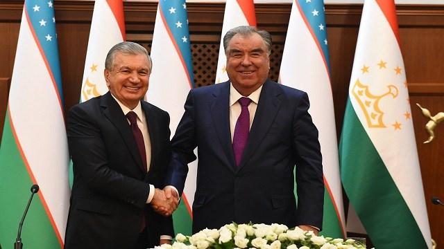 Özbekistan ve Tacikistan 2022'de ticaret hacmini 1 milyar dolara çıkarmayı hedefliyor
